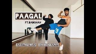 Badshah | Paagal | Dance Video | Latest Hit Song 2019 | Barath Gowda Choreography