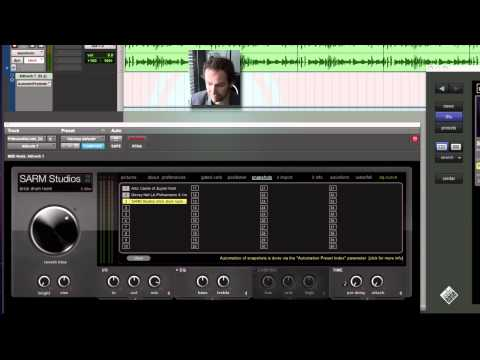 Altiverb 7 manual - Automation and presets