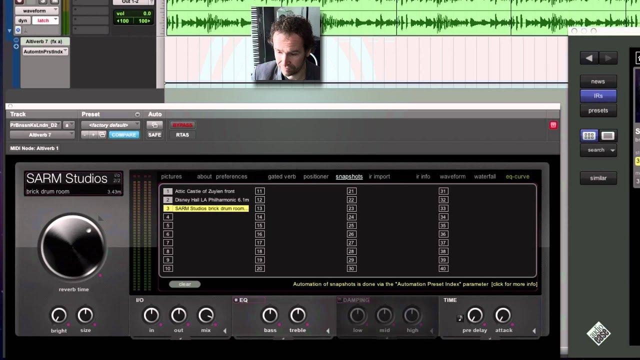 Audio Ease - Altiverb - Revolutionary convolution reverb plug-in for