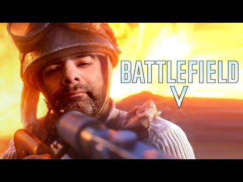 Battlefield V segunda guerra mundial en vivo