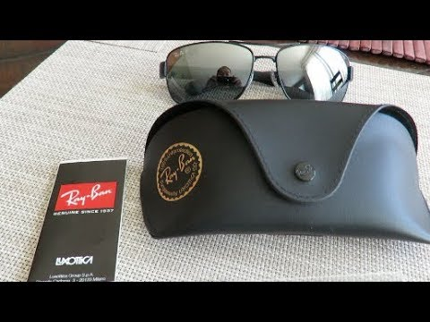 08abbb906f7d8 Ray Ban RB3522 Matte Black with Mirror Lens at 64mm - YouTube