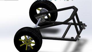 سوليدووركس الدروس : إنشاء كارت N°2/ الإطار الخلفي من الكارت