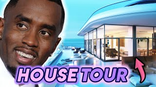 P.Diddy | House Tour 2020 | Beverly Hills Mega Mansion | $ 885 Million Dollars