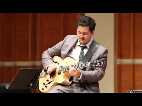 Lucian Gray - Unit 7 - Wes Montgomery Jazz Guitar Competition - Merkin Hall