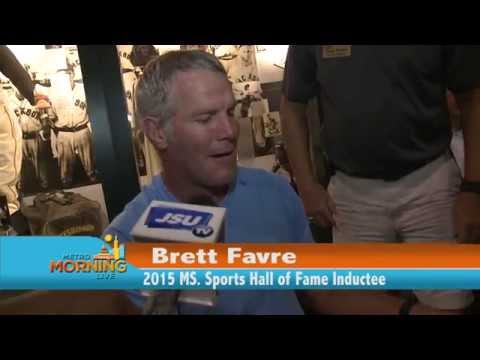 Mississippi Sports Hall of Fame Induction