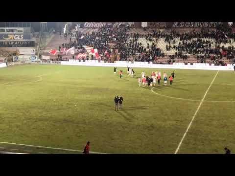 CALCIO - Fine partita tra LR Vicenza vs Modena