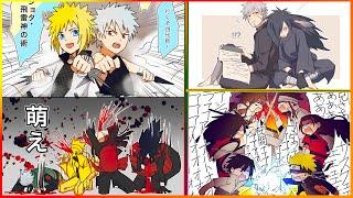 【マンガ動画】ナルト 漫画 | Naruto |NARUTOログ(マダラ中心) 山田くんと七人の魔女をNARUTOでパロディ漫画です。コマ割りはほぼ一緒です! 途中で...