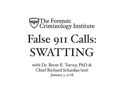 """FCI - False 911 Calls: """"Swatting"""""""