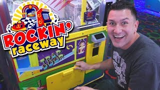 Arcade Fun at Rockin' Raceway!