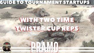 How To Tournament With PRAMO World of Tanks Blitz