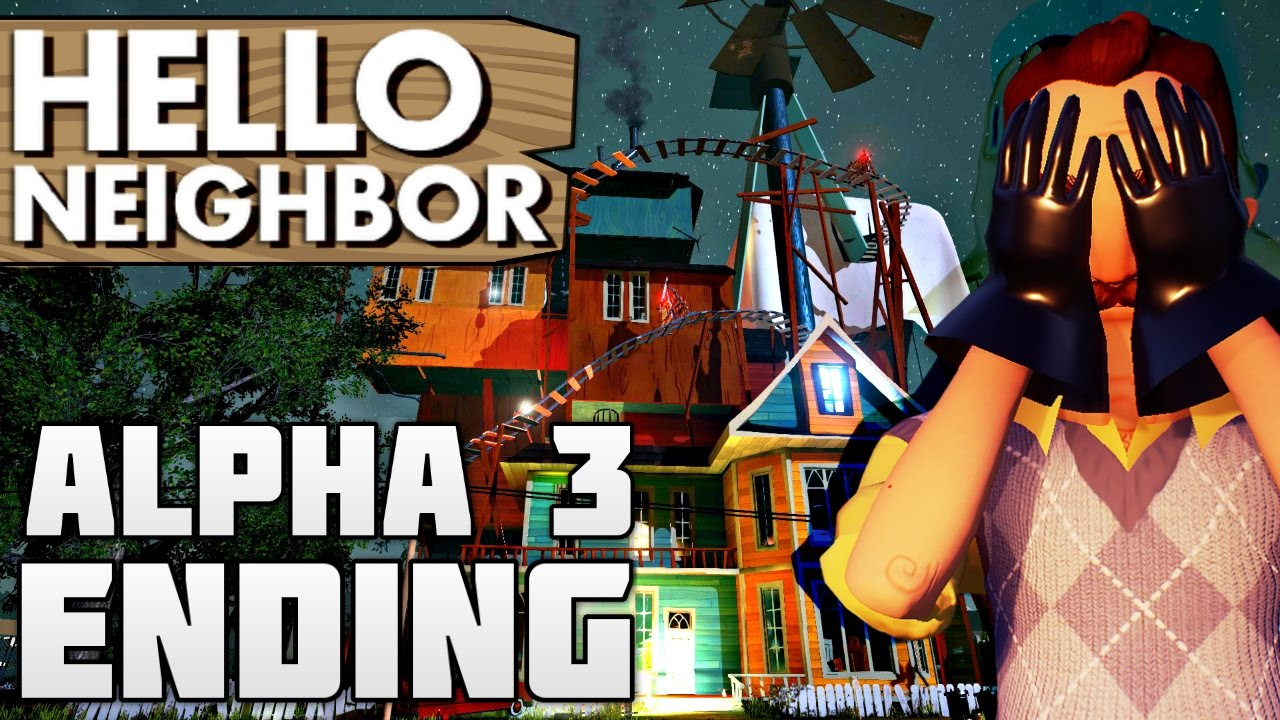 how to get the crowbar in hello neighbor alpha 4
