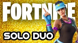 GAME, SET & MATCH - SOLID GOLD IS BACK! FORTNITE SOLO DUO VICTORY ROYALE? - PATCH V7.30.