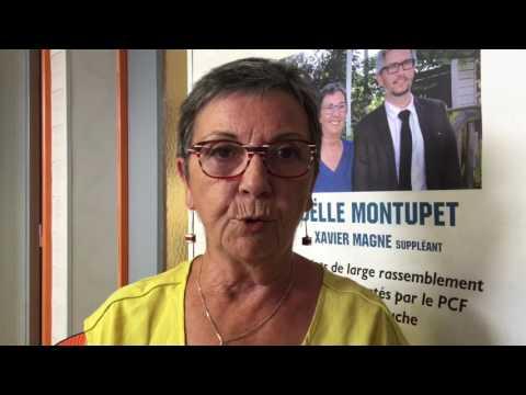 Joëlle Montupet Législatives 2017