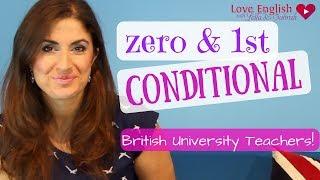 Learn the Zero & 1st Conditional | English Grammar lesson