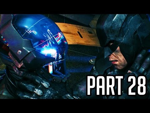 Batman Arkham Knight Walkthrough Gameplay Part 28 - Scrambled Knight (PS4/XB1/PC 1080p HD)