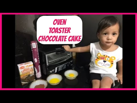 oven toaster chocolate cake