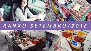 Ep.221 | RANXO: compras do mês de Setembro/2018 🛒 #11 / com preços 💰