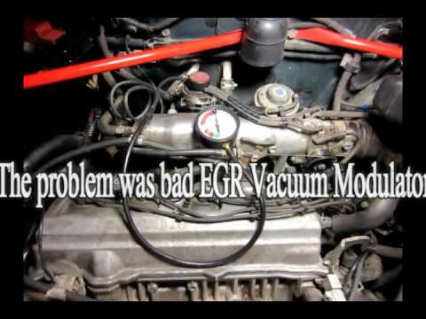 How to fix/diagnose Code P0401 Toyota - EGR Valve, Vacuum Modulator