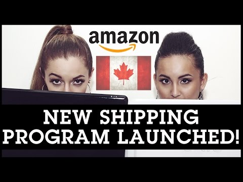 Amazon FBA Canada: New Shipping Program Launched!