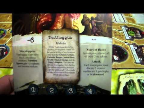 S4 EP1 arkham horror vs tsathoggua pt1