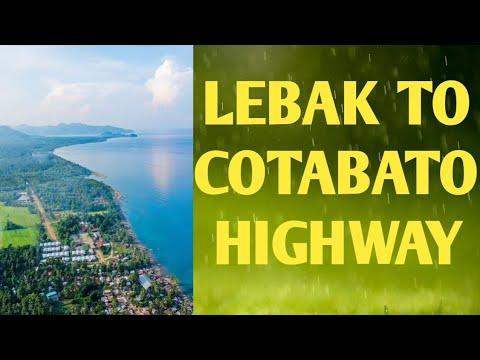 Lebak Sultan Kudarat National Highway from Cotabato City via Upi Maguindanao