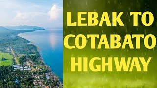 Lebak Sultan Kudarat National Highway from Cotabato City via Upi Maguindanao