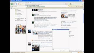 afficher les contacts Facebook dans la barre latérale de Firefox