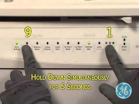 Ge Dish Electronic Test Mode