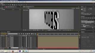 After Effect Урок №2 Создание ЗD текста и 3D логотипа