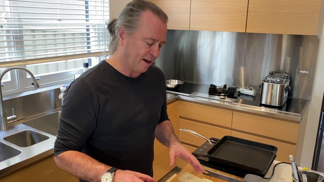 Neil Perry x Qantas:  Signature Steak Sandwich