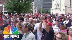 Supporters Pack Tulsa For Trump Rally Amid Coronavirus Pandemic | NBC Nightly News