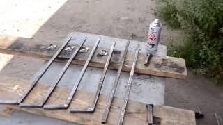 видео Стул для рыбалки своими руками