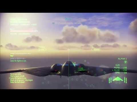 Ace Combat Infinity: B-2 Bomber Vs Sea Strike ( S Rank/ No Death )