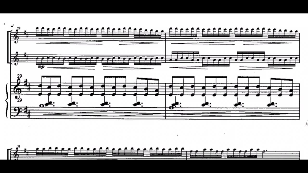 Ian Clarke Maya For 2 Flutes And Piano