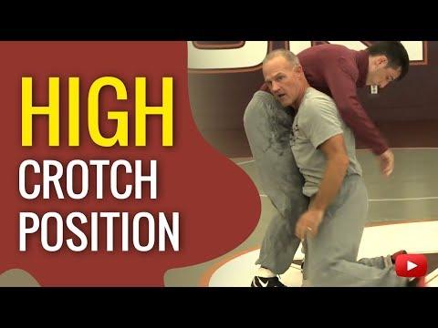 Wrestling Tips - Good High Crotch Position - Coach Kevin Dresser