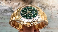 Rolex Daytona Review – Ref 116508 Yellow Gold with Emerald Green Dial