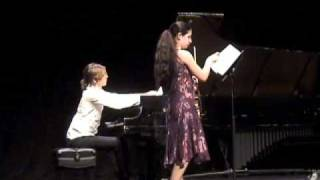 "Charles Wuorinen ""Six Pieces"" Nos.1, 2 & 5 played by Rachel Field and Nathaniel LaNasa"