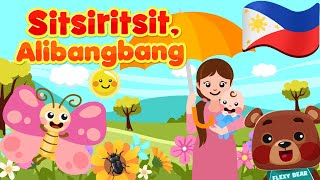 Sitsiritsit, Alibangbang | Philippines Kids Nursery Rhymes & Songs | Awiting Pambata