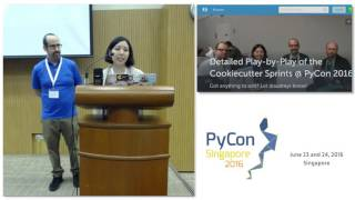 Lightning Talk: Sprints - PyConSG 2016