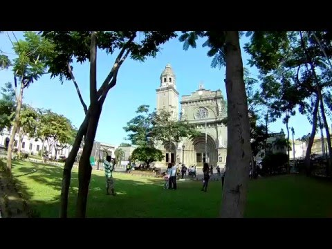 Sightseeing in Manila: THE MANILA CATHEDRAL