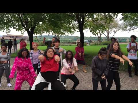 Creative arts flash mob