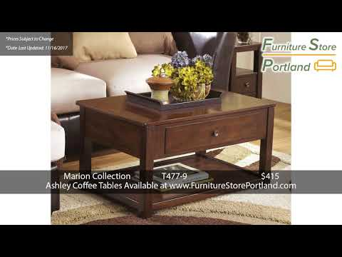 Sale Prices For Ashley Coffee Tables Pt 1 Portland 2017 Youtube