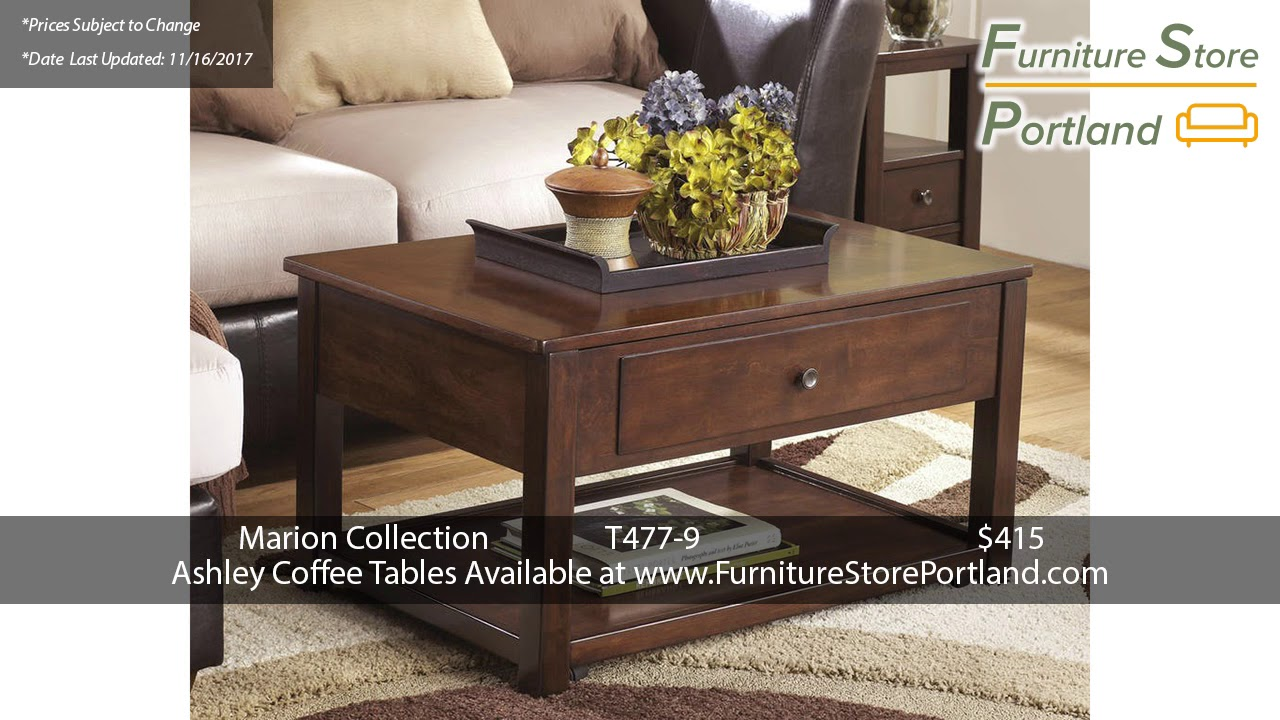 Sale Prices For Ashley Coffee Tables Pt. 1 | Portland 2017 |