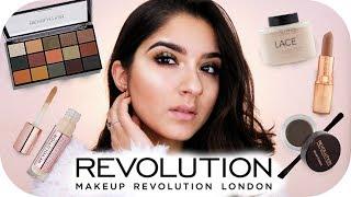 FULL FACE USING ONLY MAKE UP REVOLUTION | Sanny Kaur