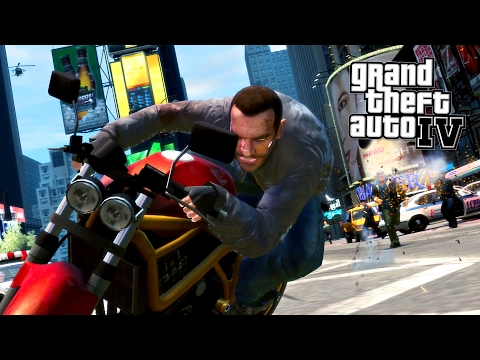 NEW YORK CITY!! (GTA IV, Part 4 Walkthrough)