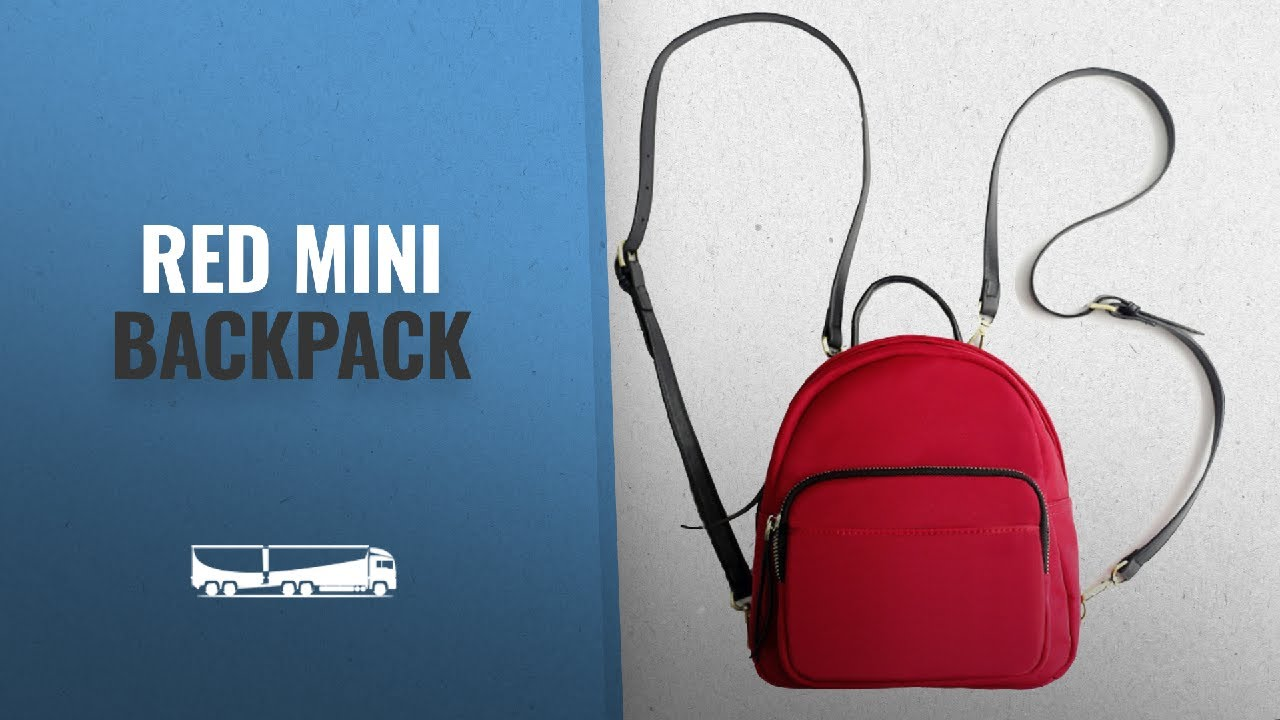 Our Favorite Red Mini Backpack  2018   Z-joyee Mini Casual Backpack ... 5edcf6bdeabfb