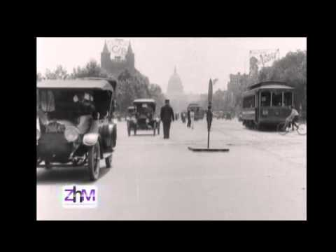 Washington, D.C. clip of Pennsylvania Avenue in 1907