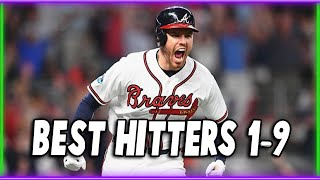 Who are the BEST 1-9 Hitters in Baseball?
