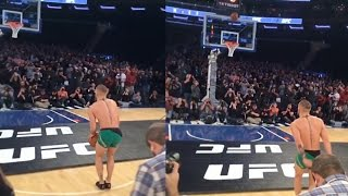 Conor McGregor Does His Best Steph Curry Impression