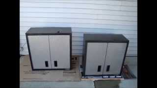 "Gladiator Garageworks: 30"" Premier Wall Cabinet Vs The 28"" Rta Wall Cabinet"